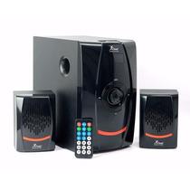 Caixa De Som 2.1 Bluetooth Multimídia 3 Alto Falantes