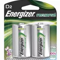 Pila Recargable Energizer Tipo D Blister New