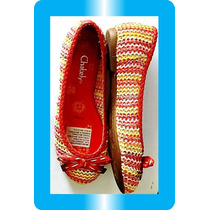 Nuevos Modelos Chabely Balerina Tejido Modelo Zapatos Dkz