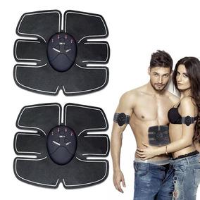 Electro Estimulador Muscular De Abdomen Brazos Pierna Unisex