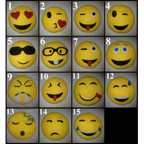 Hermosos Cojines Emoticones Emojis Whatsapp