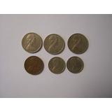 Seis Monedas De Australia.-