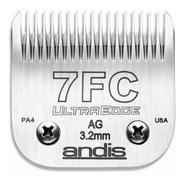 Cuchilla Andis 7 Fc 3,2mm Peladora Oster Oveja Negra Moser