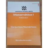 Libros De Matematica,modulos I,ii,iii,iv, U.nacional Abierta