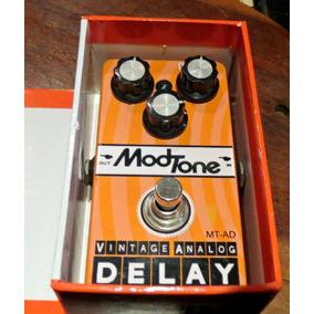 Pedal Mod Tone Delay Vintage Analog Bien Conservado
