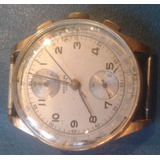Reloj Breitling Swiss Cadette Cronógrafo Oro 18 K Crono