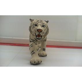 Dr.veneno Animales Figura Tigre Blanco Schleich 15 Cm Aprox.