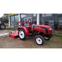 Tractor Hanomag 300a Con Desmalezadora De 1.50 Mts De Corte