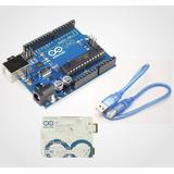Arduino Uno R3 Chip Atmega Original+cable Disponemos Local