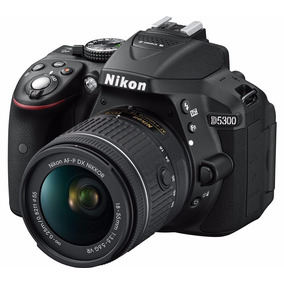 Camara Nikon D5300 Kit 18-55mm Fullhd Mini Trípode Memo 32gb