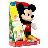 Mickey Peluche Interactivo 30cm Sonidos Original Disney Exce