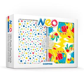 Baralho - Estojo Duplo - Neo - Ink - Copag