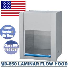 Ventilación Vertical Pro Flujo Laminar Capucha Aire Flu-9134