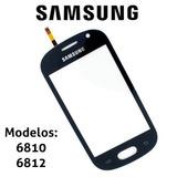 Tela Vidro Touch Samsung Galaxy Fame Gt-s6810 Gt-s6812 Preto
