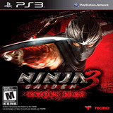 Ninja Gaiden 3 Razors Edge Ps3 Digital Con Pass Online Hoy!!
