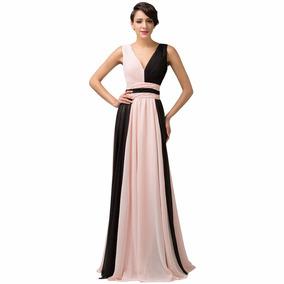 Vestido De Debutante Rosa 34 36 38 40 42 44 46 48 - Vg00345