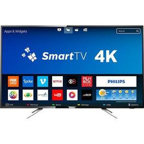 Smart Tv Led 50 Philips Uhd 4k Com Conversor Digital
