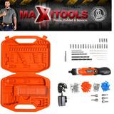 Atornillador Kit138 Piezas Black And Decker Bd7260 Maxitools