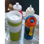 Combo De 4 Envases Plasticos Para Bebidas