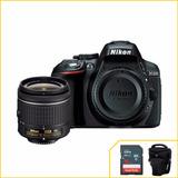 Nikon D5300, Wifi,gps+18-55mmvr+sandisk16gb+tripé Temos Loja