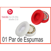 Espuma Fone Dr Dre Studio 2.0 Beats Monster 01 Par
