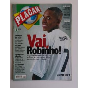 Revista Placar 2005 Nº 1284 Robinho, Cicinho, Romarinho