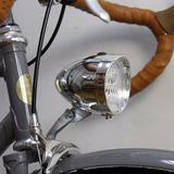 Farol 3 Led Bicicleta Antiga Retrô Vintage Monark Caloi 10