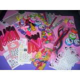 Set De Spa Nenas Completo-maquillaje ,uñas ,accesorios X 12
