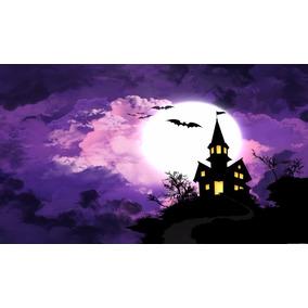 Painel Lona Festa 1,80x1,20mt Halloween 5