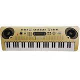 Piano Organeta Eléctrica Usb Mp3 54 Teclas Musical Blancomet