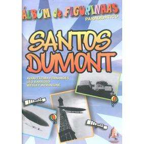 Álbum De Figurinhas Paradidático Santos Dumont