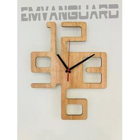 e0e02a57f43b Relojes De Pared Madera Modernos - Relojes De Pared en Mercado Libre ...