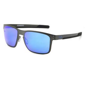c3426d5f5235b Óculos De Sol Oakley Holbrook Metal Prizm Polarizado - Origi