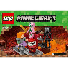 Lego Minecraft 21122 O Nether Fortress - Lego e Blocos de Montar no ... 7ba688f524