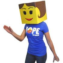 Incogneato Lego Mi Eggo Mujer Amarillo Brickman Vestuario C