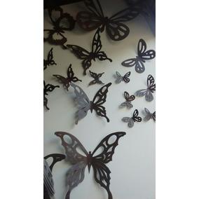Mariposas De Hierro Para Pared