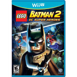 Videojuego Wii U Lego Batman 2 Super Heroes