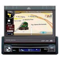 Dvd Player Retrátil 7 Gps H-buster Hbd9750 Usb Aux E Tv Dig