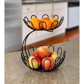 Fruteira De Mesa Em Arame