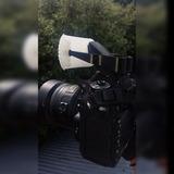 Difusor De Flash Pop Up Para Camara Reflex Canon Nikon