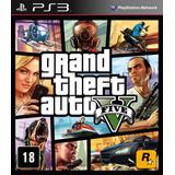 Ps3 - Gta Grand Theft Auto V - Lacrado Envio Grátis