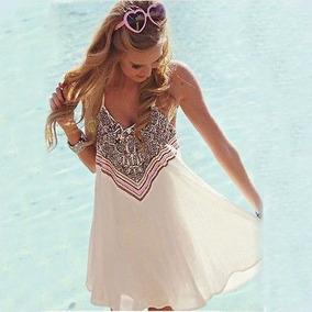 Vestido Blanco Salida De Playa Alberca Pareo