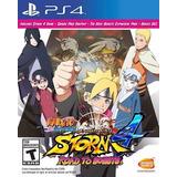 Nuevo, Sellado Ps4 Naruto Road To Boruto Envío Gratis