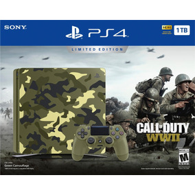Ps4 Playstation 4 Call Of Duty Wwii + 7jgs + Financiamiento