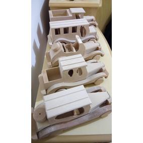 Brinquedo De Madeira - Carrinho Artesanal Colecionável