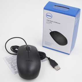 Mouse Optico Dell Ms-111l Usb 1200 Dpi De Cable