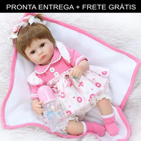 Bebe Reborn Boneca Silicone Menina (pronta Entrega) Promoção