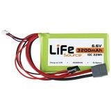 Bateria Hobbico Lifesource Life 6.6v 3200mah 10c Receiver