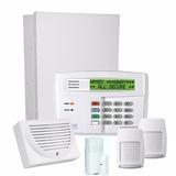 Kit Sistema Alarmas Híbrido Honeywell + 2 Pir + 1 Mag Uss