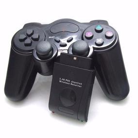 Controle De Play2 Ps2 Sem Fio Wireless Joystick 2.4ghz Mex